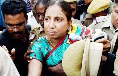 पूर्व प्रधानमंत्री गांधी हत्याकांड में उम्रकैद की सजा काट रही नलिनी को मिली पैरोल