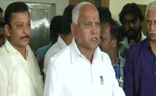 येदियुरप्पा ने कहा - आज शाम छह बजे लेंगे CM पद की शपथ