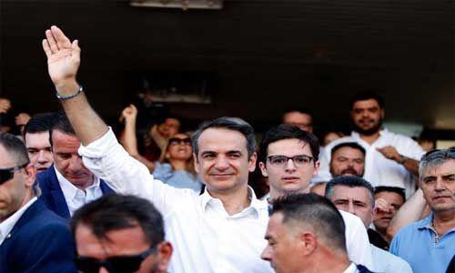 ग्रीस में संसदीय चुनावों में न्यू डेमोक्रेसी पार्टी की हुई जीत