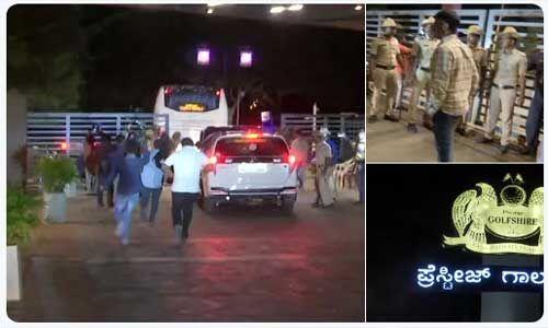 संकट में कर्नाटक सरकार : बागी कांग्रेस-जद (एस) विधायकों ने बदला ठिकाना, मुंबई से अब गोवा पहुँचे