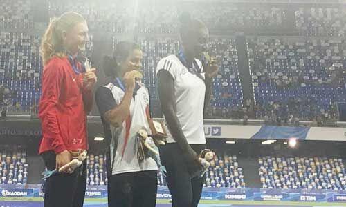 100 मीटर स्पर्धा में दूती चंद ने जीता गोल्ड