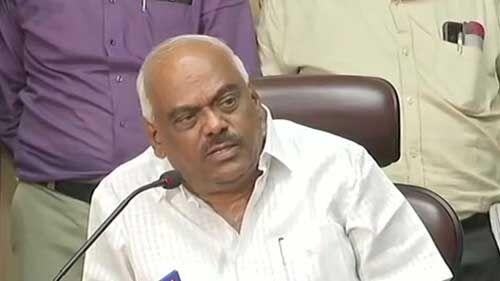 कर्नाटक में बागी विधायकों से मिलने के बाद स्पीकर ने यह कहा...