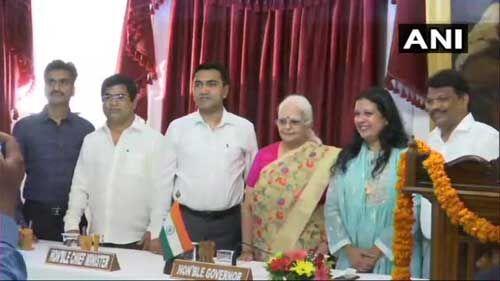 गोवा : कांग्रेस से आये चार बागी एमएलए भाजपा में बने मंत्री