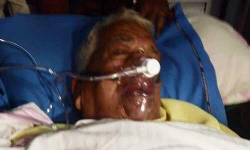 पूर्व मुख्यमंत्री बाबूलाल गौर की अचानक बिगडी तबियत, आईसीयू में भर्ती