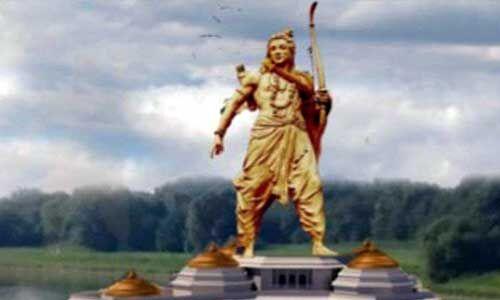 अयोध्या में श्रीराम की सबसे ऊंची प्रतिमा होगी स्थापित