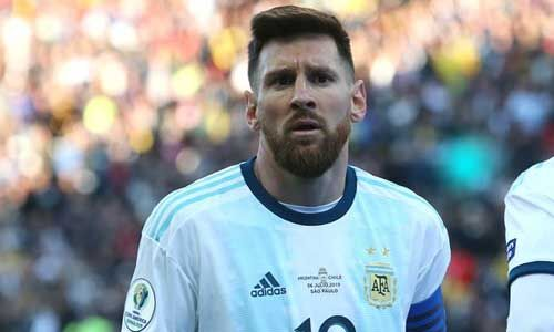 मेसी अर्जेंटीना के पहले विश्व कप क्वॉलिफायर मैच से निलंबित