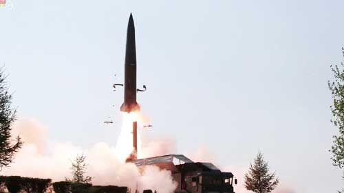 नॉर्थ कोरिया ने छोटी दूरी की दो मिसाइलें छोड़ीं