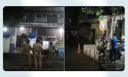 बंगाल में भाजपा सांसद अर्जुन सिंह के घर पर बदमाशों ने फेंका बम, हुई गोलीबारी