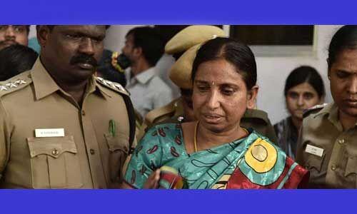 राजीव गांधी हत्या के मामले में दोषी नलिनी 30 दिन की पैरोल पर हुई रिहा