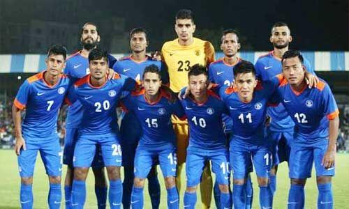 भारतीय फुटबॉल टीम फीफा रैंकिंग में 103वें स्थान पर पहुंची