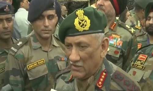 पाकिस्तान 1999 जैसी हरकत दोबारा कभी करने की कोशिश नहीं करे : सेना प्रमुख जनरल