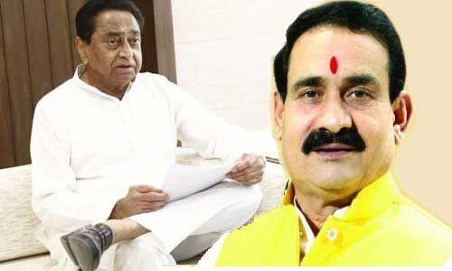 ई-टेंडर घोटाले में पूर्व मंत्री नरोत्तम मिश्रा ने दी चुनौती, कोई भी सबूत हों तो कार्रवाई करें मुख्यमंत्री कमलनाथ