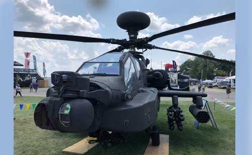 अमेरिका से भारत आए 4 अपाचे लड़ाकू हेलीकॉप्टर, अब दुश्मनों की खैर नहीं