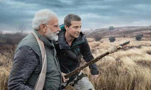 अब डिस्कवरी के सबसे पुराने और लोकप्रिय शो मैन वर्सेज़ वाइल्ड में एडवेंचर करते दिखाई देंगे प्रधानमंत्री मोदी