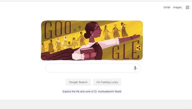देश की पहली महिला विधायक की 133वीं जयंती पर गूगल ने डूडल बनाकर किया याद