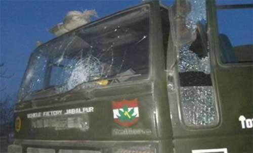 जम्मू में आईईडी विस्फोट, सेना का कैस्पर वाहन क्षतिग्रस्त