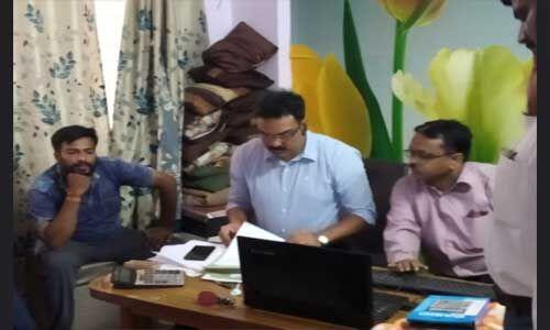 लोकायुक्त ने संजय भागवानी के घर पर मारा छापा