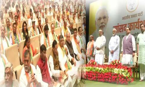 प्रधानमंत्री नरेन्द्र मोदी ने किया भाजपा अभ्यास वर्ग का उद्घाटन