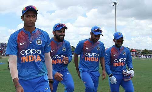 इंडिया ने पहले टी-20 में वेस्टइंडीज को 4 विकेट से दी मात