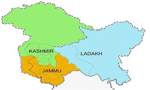 प्रधानमंत्री ने लिया बड़ा निर्णय, धारा 370 व 35ए को हटाया, जम्मू-कश्मीर से अलग हुआ लद्दाख