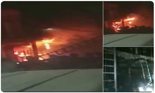दिल्ली के जाकिर नगर की बहुमंजिला इमारत में लगी आग, 6 लोगों की मौत