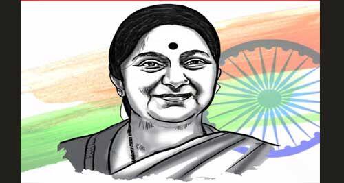 सुषमा स्वराज ने विदेश मंत्री सहित विभिन्न पदों पर काम करते हुए बढ़ाया देश का मान : अमित शाह