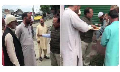 जम्मू में कश्मीरियों से मिले अजीत डोभाल, सड़क किनारे खाया खाना
