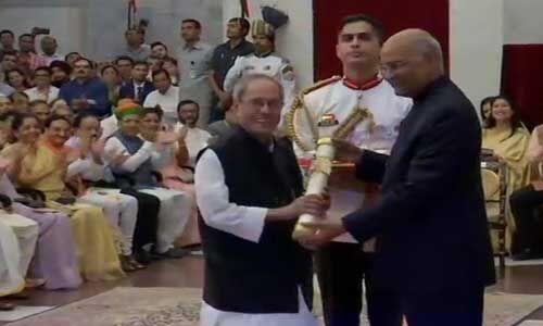 भारत के तीन अनमोल रत्न को राष्ट्रपति रामनाथ कोविंद ने भारत रत्न से किया सम्मानित