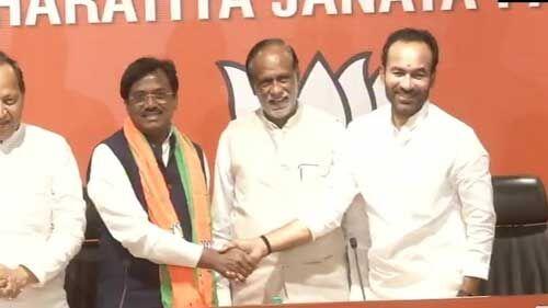 टीआरएस के वरिष्ठ नेता जी.विवेकानंद भाजपा में हुए शामिल