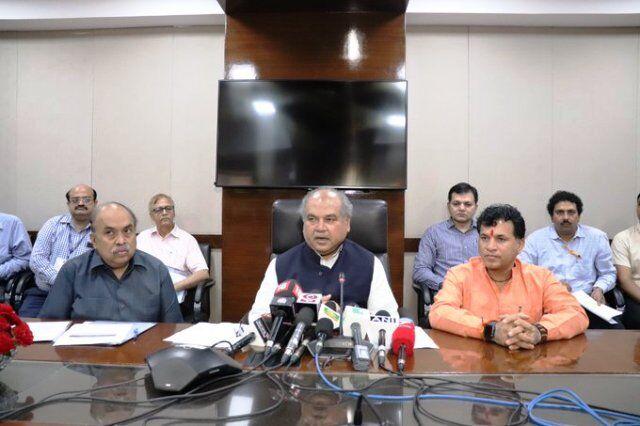 राष्ट्रनिर्माण व विकास का अनवरत काम करने वाली पार्टी है भाजपा : नरेन्द्र सिंह तोमर