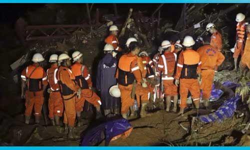 म्यांमार में लैंडस्लाईड होने से 22 लोगों की मौत