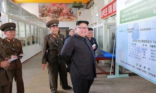 किम जोंग उन की निगरानी में नॉर्थ कोरिया ने नए हथियार का किया परीक्षण