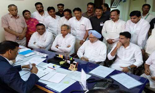 पूर्व पीएम ने राजस्थान से राज्यसभा उम्मीदवार के रूप में भरा पर्चा