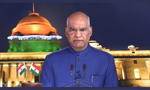 #Article 370 हटने से जम्मू-कश्मीर और लद्दाख के निवासी होंगे लाभान्वित : राष्ट्रपति कोविन्द