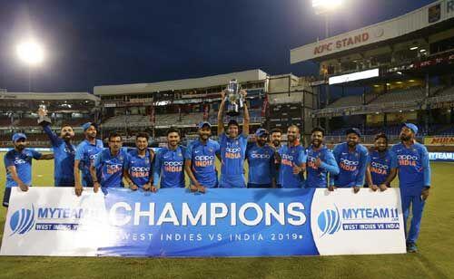 भारत ने वेस्टइंडीज को 6 विकेट से हराया
