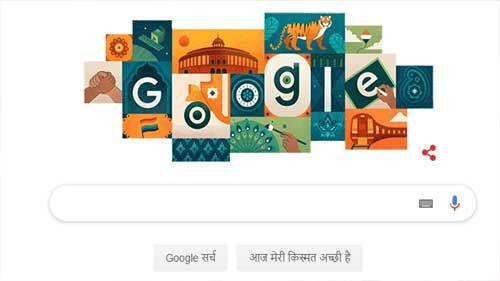 गूगल ने स्वतंत्रता दिवस पर खास अंदाज में दी बधाई