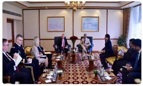 यूएसए विदेश विभाग के उप सचिव ने विदेश मंत्री जयशंकर से की मुलाकात