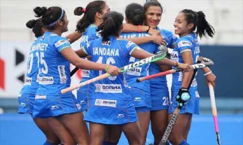 भारतीय महिला हॉकी टीम ने जापान को 2-1 से हराया