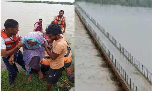 चंबल नदी में उफान से भिंड, मुरैना किनारे बसे ग्रामीणों को रेस्क्यू टीम ने पहुंचाया सुरक्षित जगह