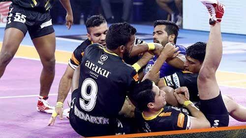 पीकेएल : हरियाणा स्टीलर्स को तेलुगू टाइटंस के हाथों हार का सामना करना पड़ा
