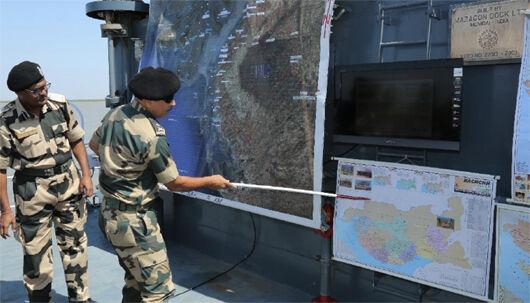 पाकिस्तान ने गुजरात से सटे सर क्रीक क्षेत्र में SSG कमांडो किए तैनात