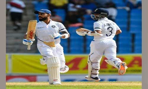 एंटीगुआ टेस्ट : इंडिया की सबसे बड़ी जीत, पहले टेस्ट मैच में वेस्टइंडीज को 318 रनों से हराया