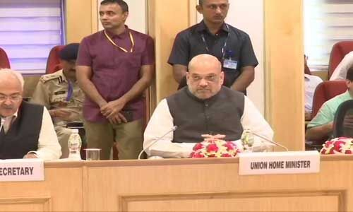 नक्सलियों से निपटने के लिए गृहमंत्री ने की मुख्यमंत्रियों के साथ अहम बैठक