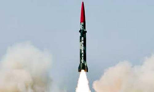 पाक ने बैलिस्टिक मिसाइल गजनवी का किया परीक्षण, जानें कितनी है मारक क्षमता