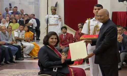 #NationalSportsDay : राष्ट्रपति कोविंद ने वितरित किए खेल पुरस्कार, जडेजा-बजरंग अनुपस्थित
