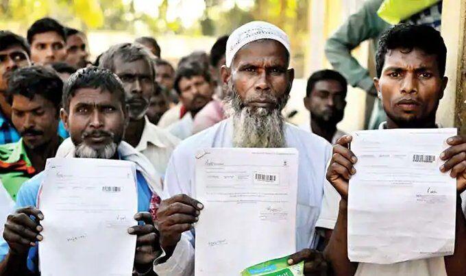 एनआरसी सूची से कटा 19 लाख से अधिक लोगों का नाम, देश से होंगे बाहर