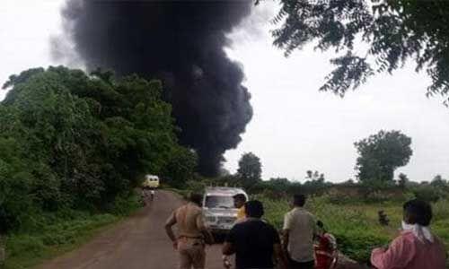 महाराष्ट्र : कैमिकल फैक्ट्री में ब्लास्ट, 12 लाेगों की मौत, 58 लोग घायल