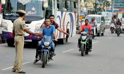 सावधान : आज से ट्रैफिक नियमों का पालन करें वरना भरें भारी जुर्माना