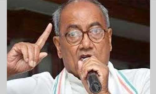 दिग्विजय ने पूर्व वित्तमंत्री पर कार्रवाई को बताया प्रतिशोध