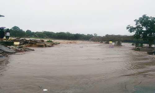 खंडवा : अग्नि नदी ने फिर लिया रौद्र रूप, बाढ़ के हालात